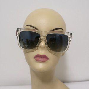 Chrome Hearts Slhore Sunglasses Crystal Transparen